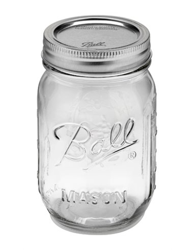 Ball | Mason Jar Regular Mouth 16 oz / 475 ml (1 stuks)