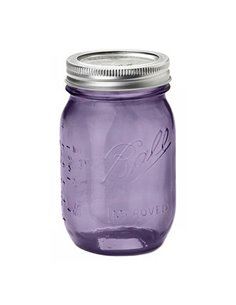 Ball | Mason Jar Heritage Purple Regular Mouth pint 16 oz / 475 ml (1 stuks)