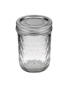 Ball | Mason Jar Regular Quilted Crystal 8 oz / 240 ml (1 stuks)