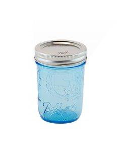 Ball | Mason Jar Elite BLUE 8 oz / 240 ml Regular Mouth (1 stuks)