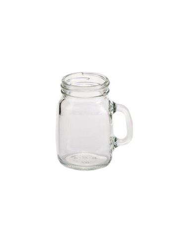 Mini Mason Jar Mug zonder deksel 128 ml (4 stuks)