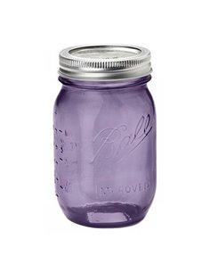 Ball | Mason Jar Heritage Purple Regular Mouth pint 16 oz / 475 ml (1 stuks)