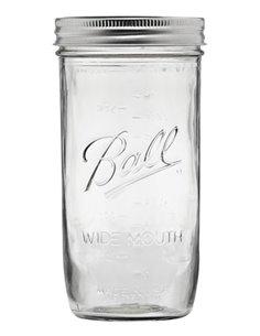 Ball | Mason Jar Wide Mouth 24 oz / 700 ml (1 stuks)
