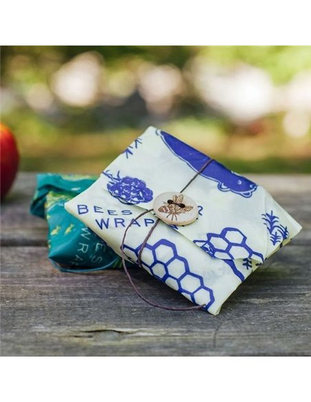 Bee's Wrap 2-pack sandwich wraps WildLife