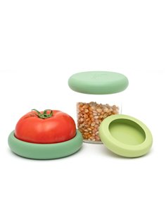 Food Huggers Soft Greens set van 3