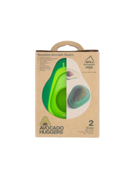 Food Huggers Avocado Huggers set van 2