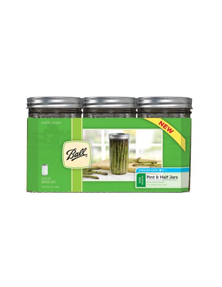 Ball | Mason Jar Wide Mouth 24 oz / 700 ml (1 stuks)