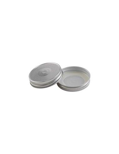 Mason Jar Deksel RVS Regular Zilver (6 st.)