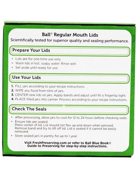 Ball | Lids Regular (12 st.)