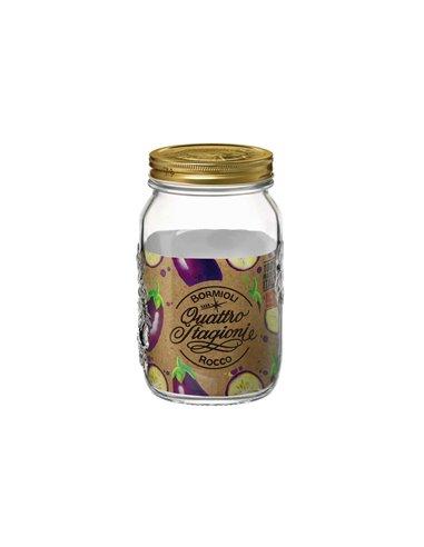 Bormioli Rocco | Quattro Stagioni Weckpot WM 1500 ml (6 stuks)
