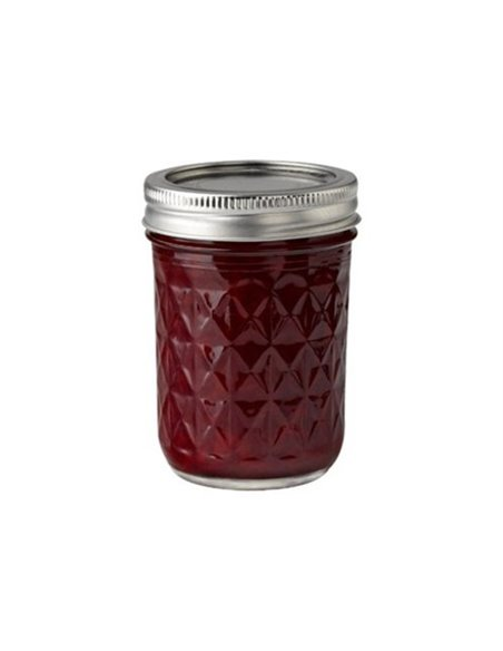 Ball | Mason Jar Regular Quilted Crystal 8 oz / 240 ml (6 stuks)