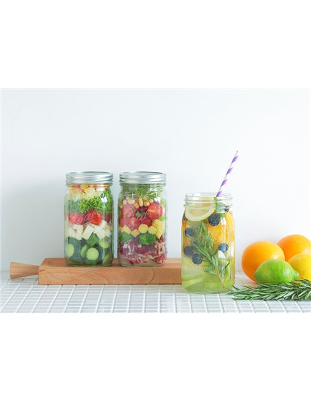 Ball | Mason Jar Wide Mouth 32 oz / 945 ml (1 stuks)