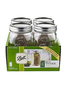 Ball | Mason Jar Wide Mouth 32 oz / 945 ml (6 pack)