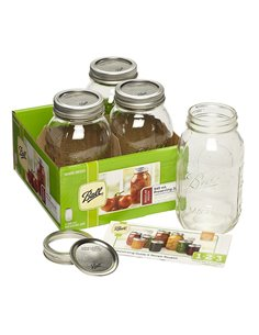 Ball | Mason Jar Regular Mouth 32 oz / 950 ml (4 pack)