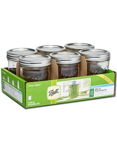 Ball | Mason Jar Wide Mouth 16 oz / 475 ml (6 pack)