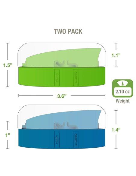 Masontops | Kefir Caps Wide mouth (2 pack)