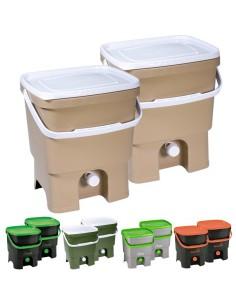 Skaza | Bokashi Organico Eco DUO Fermentatie Compostbak met Compostversneller