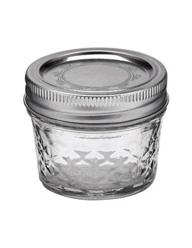 Ball | Mason Jar Regular Quilted Crystal 4 oz / 120 ml (1 stuks)