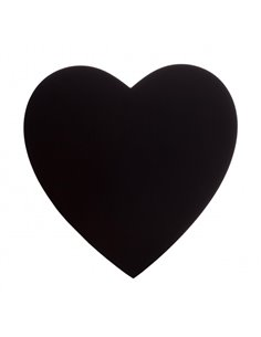 Chalkboard stickers Hearts 12 st.