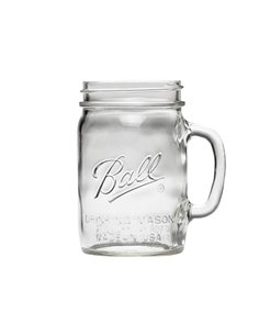 Ball | Mason Jar Drinking Mug 24oz / 740 ml Wide Mouth (1 stuks)