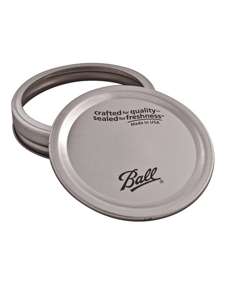 Ball   Lids and bands Wide Mouth (12 st.)