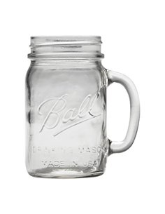 Ball | Mason Jar Drinking Mug 16oz / 470 ml Regular Mouth (4 stuks)