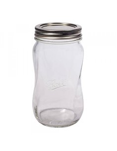 Ball | Mason Jar Elite SPIRAL 28 oz / 850 ml Wide Mouth (4 stuks)
