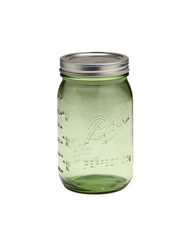 Ball | Mason Jar Heritage Green Wide Mouth 32 oz / 950 ml (1 stuks)