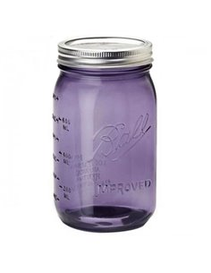 Ball | Mason Jar Heritage Purple Wide Mouth 32 oz / 950 ml (1 stuks)