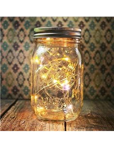 Mason Jar Deksel Regular LED light White 1 st.