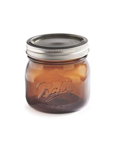 Ball | Mason Jar Elite AMBER 16 oz / 475 ml Wide Mouth (1 stuks)