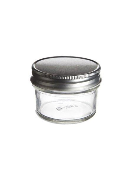 Mason Jar ECO clear 4 oz