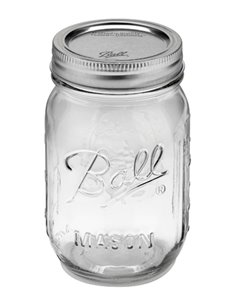 Ball | Mason Jars Regular Mouth 16 oz / 475 ml (1 stuks)