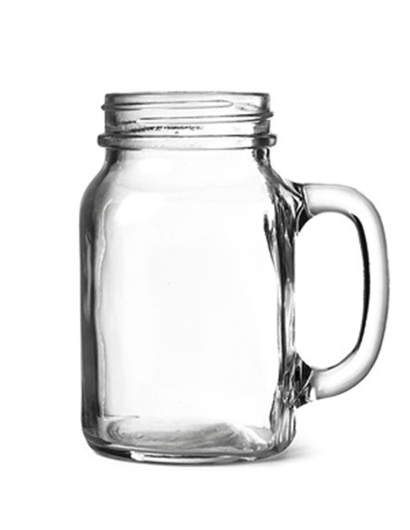 Mason Jar Plain Drinkbeker Regular 20 oz / 568 ml (1 stuks)