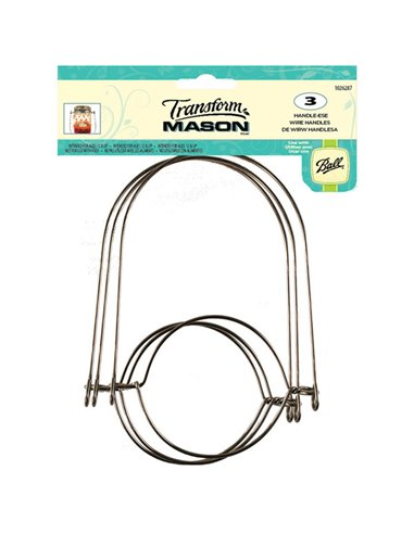 Transform Mason® | Wire Handles Regular  - 3 stuks