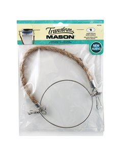 Transform Mason® | Rope Handle Wide Mouth  - 1 stuks