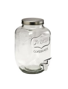 Yorkshire Mason Jar dispenser MINI 128 oz | 1 gallon | 3,8 L
