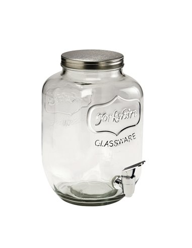 Yorkshire Mason Jar dispenser MINI 128 oz   1 gallon   3,8 L