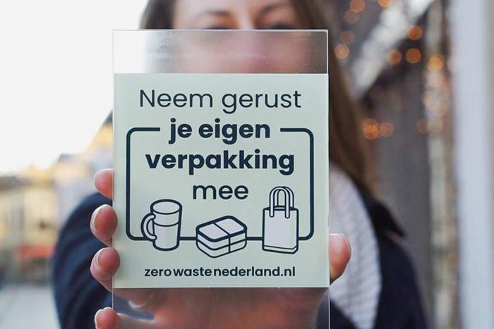Zero Waste Eigen Verpakking Welkom