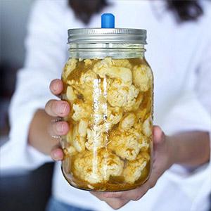 Mason Jar fermentatie deksel